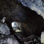 Interior de la Cueva del Murciélago de Altura