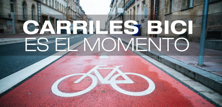 Los Carriles bici: una necesidad en los tiempos que corren