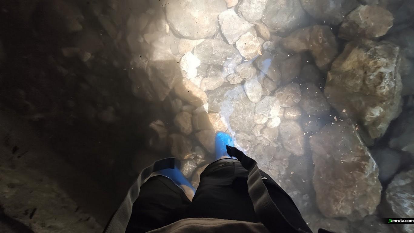 En los estrechos encontraremos zonas inundadas
