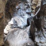 Algunas zonas son de acceso más difícil por el pulido de las rocas